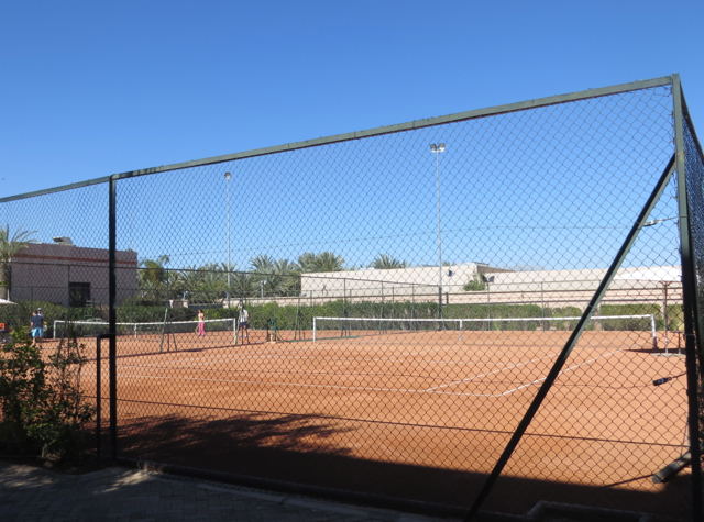 Four Seasons Marrakech Review - Tennis Courts