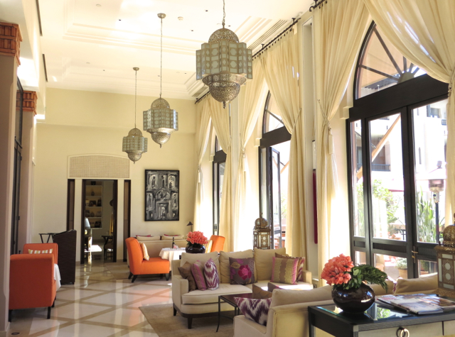 Four Seasons Marrakech Morocco Review - Inara Bar and Lounge