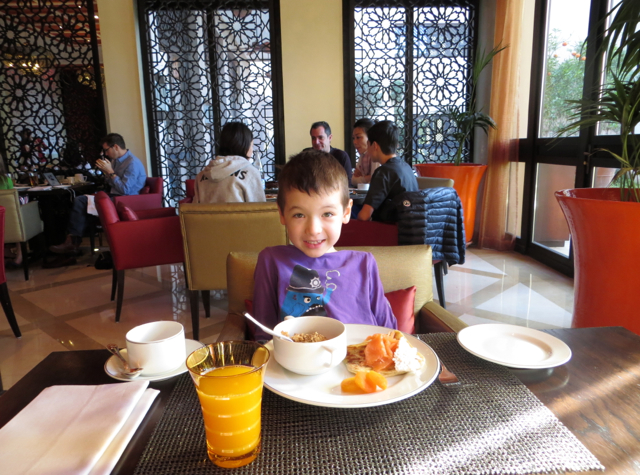 Solano at Four Seasons Marrakech Review - Breakfast Seating