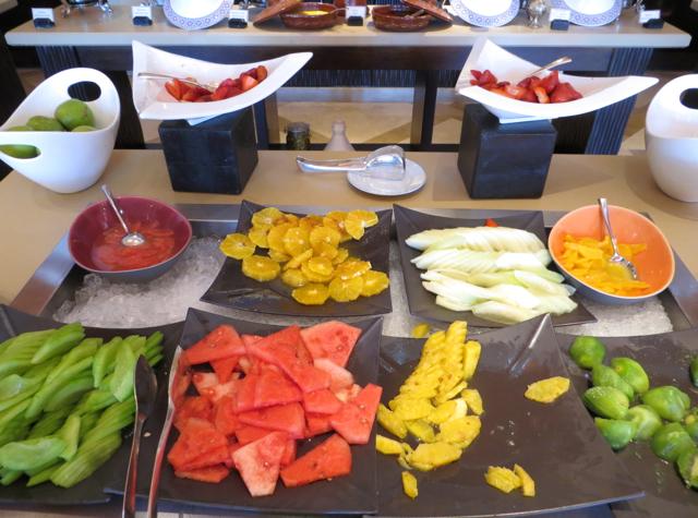 Solano at Four Seasons Marrakech Review - Fresh Fruit