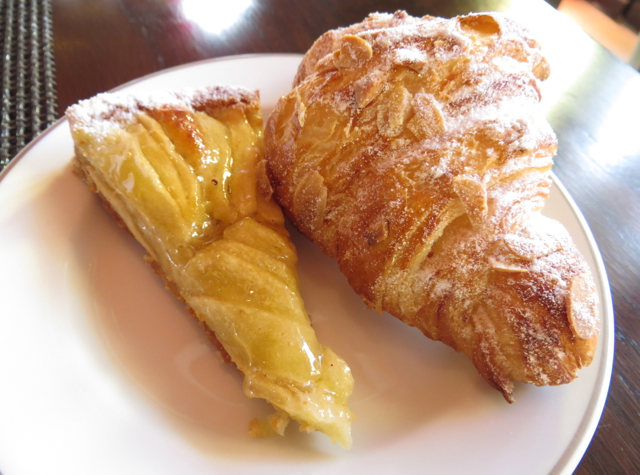 Solano at Four Seasons Marrakech Review - Apple Tart and Almond Croissant