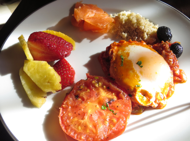 Solano at Four Seasons Marrakech Review - Breakfast