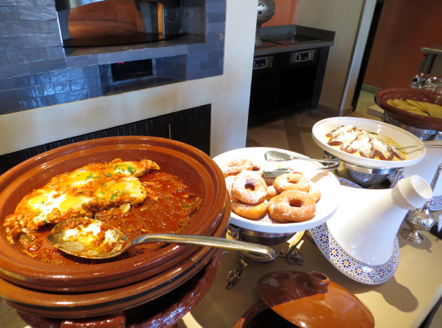 Solano at Four Seasons Marrakech Review - Breakfast Buffet Moroccan Dishes