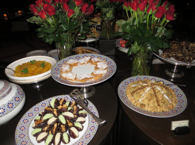 Solano at Four Seasons Marrakech Review - Desserts and Roses