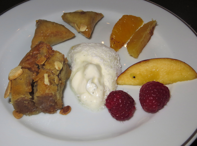 Solano at Four Seasons Marrkech Review - Moroccan Desserts