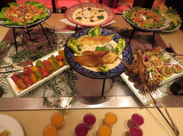 Solano at Four Seasons Marrakech - Moroccan Salads