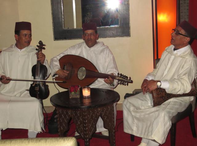 Solano at Four Seasons Marrakech - Moroccan Musicians-Live Music