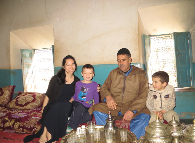 With Our Berber Host and His Son