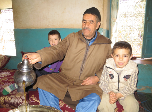 Berber Host, Son and Munchkin