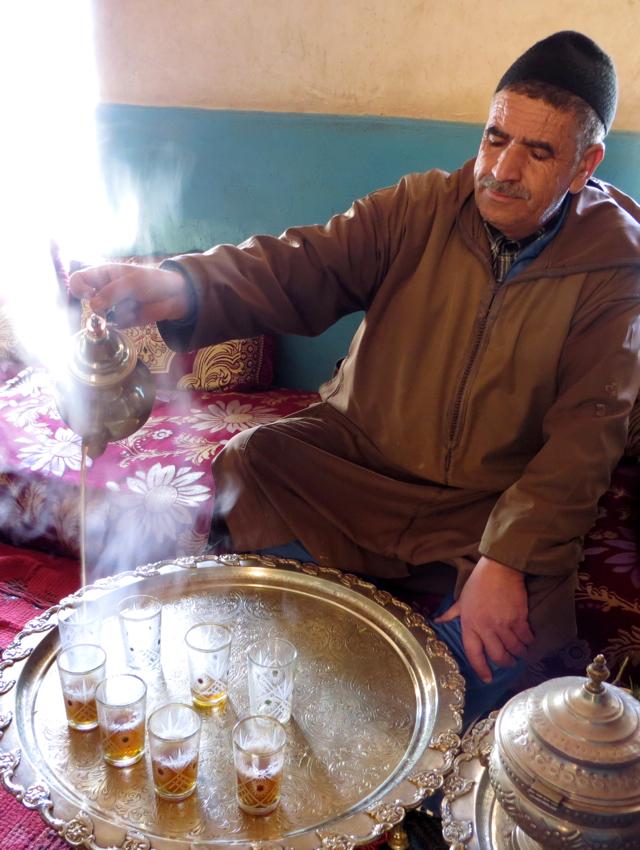 Atlas Mountains Berber Village Tour from Marrakech - Pouring Moroccan Tea