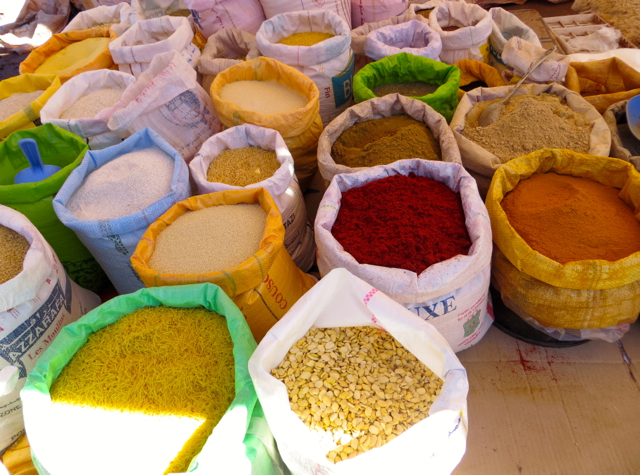 Atlas Mountains Berber Village Tour from Marrakech - Spices at L'Arbaa Tighdouine Market Souk