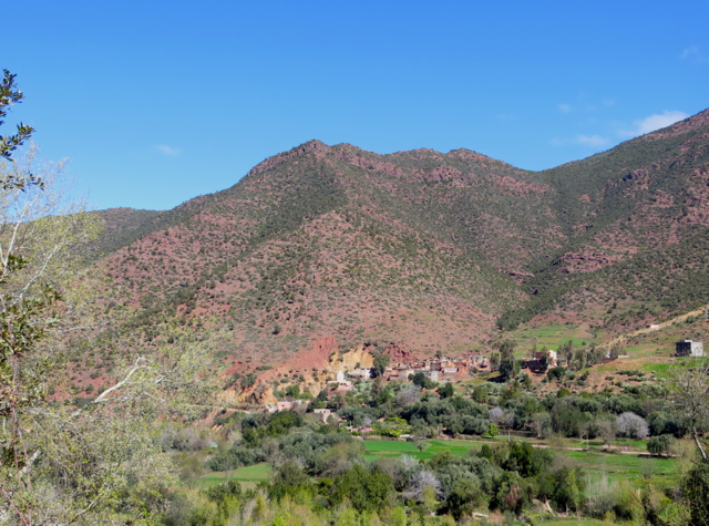 Atlas Mountains Berber Village Tour from Marrakech - View of the Valley and Mountain