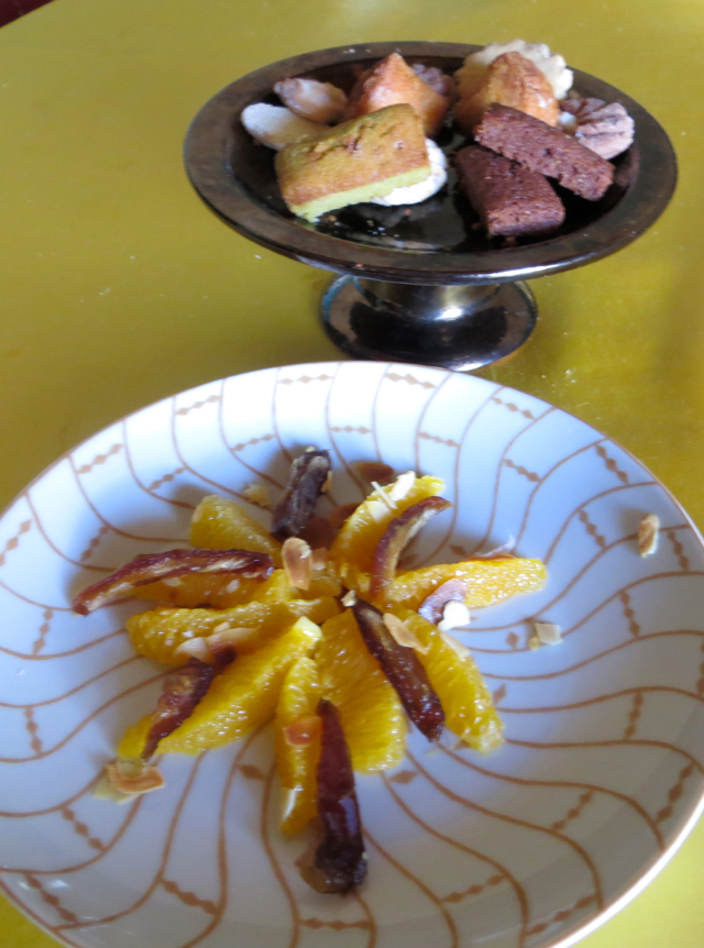 Atlas Mountains Berber Village Tour - Dessert of Oranges with Dates and Cookies