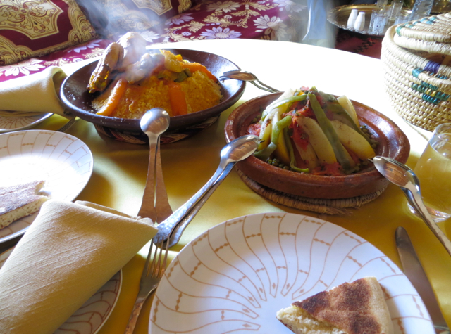 Atlas Mountains Berber Village Tour from Marrakech - Chicken with Couscous and Beef Tagine with Vegetables