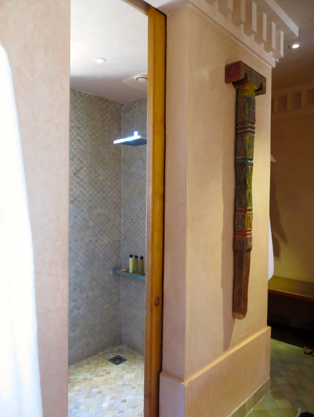 Amanjena Review Marrakech Morocco - Walk In Shower