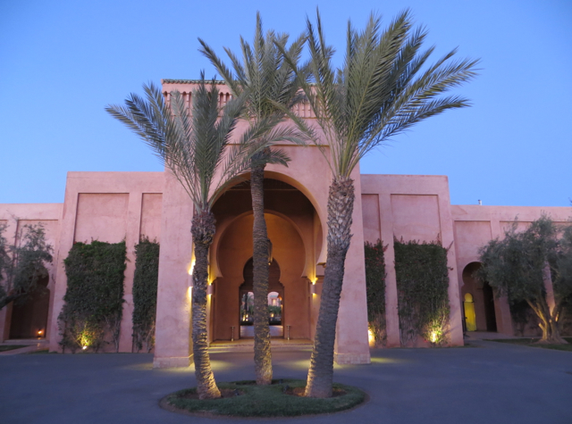 Amanjena Review Marrakech Morocco - Entrance