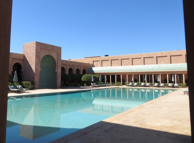 Amanjena Review Marrakech Morocco - Heated Swimming Pool