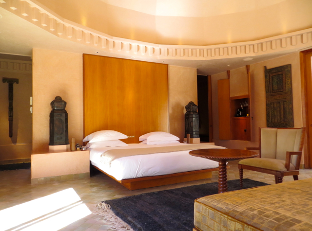Amanjena Review Marrakech Morocco - Pavilion Room