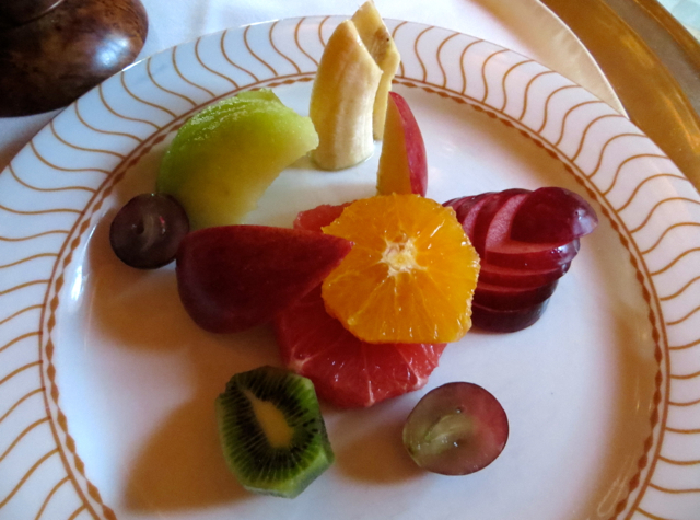 Amanjena Breakfast - Fruit Plate