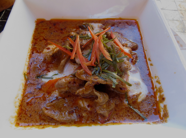 Amanjena Thai Restaurant - Spicy Panang Curry with Beef