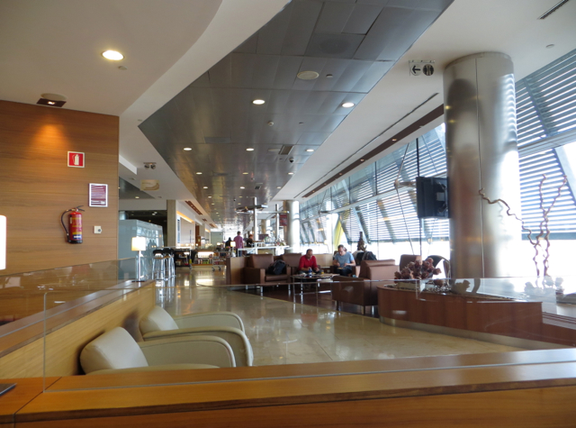 Iberia Business Class Lounge Madrid Review