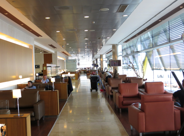 Iberia Business Class Lounge Madrid Review - Seating