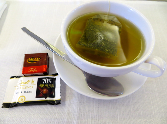 Iberia Business Class A340-600 Review - Mint Tea and Chocolates