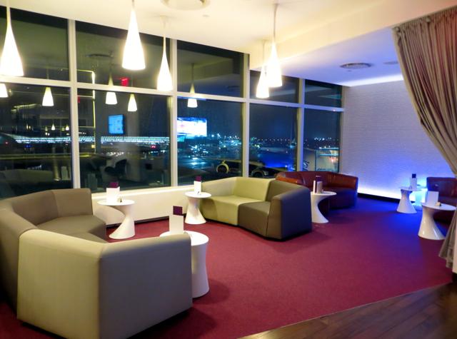 Virgin Atlantic Clubhouse JFK Terminal 4 - Seating