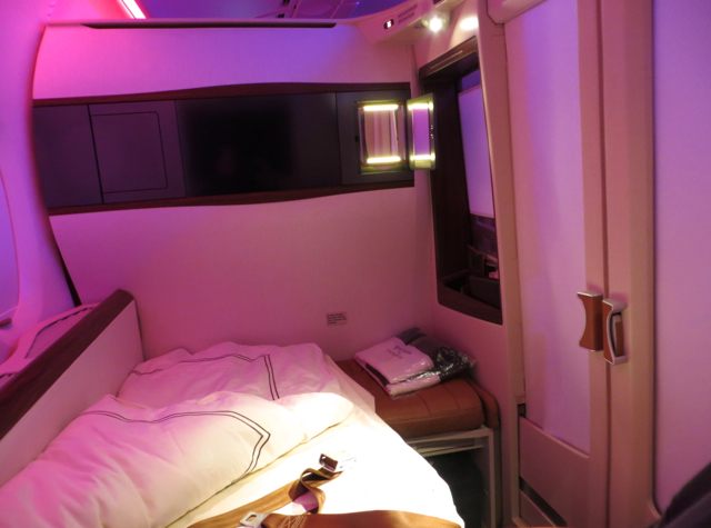 Singapore Suites A380 Review - Suite Doors Closed