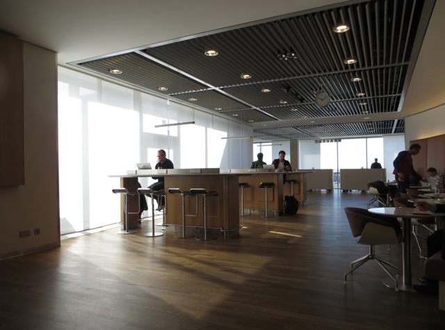 Review: Lufthansa Senator Lounge Frankfurt - Seating Area with View of Runways