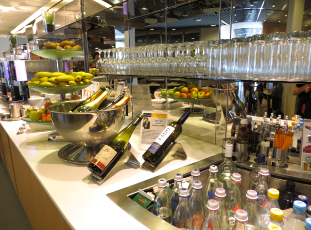 Review: Lufthansa Senator Lounge Frankfurt-Drinks on Buffet