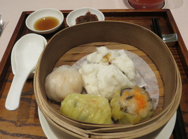 Singapore Airlines Private Room Lounge Review - Dim Sum