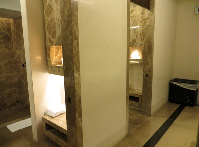 Singapore Airlines Private Room Lounge Review - Shower Rooms