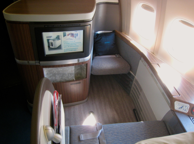 Cathay Pacific First Class Review NYC JFK to Hong Kong - Suite 1K