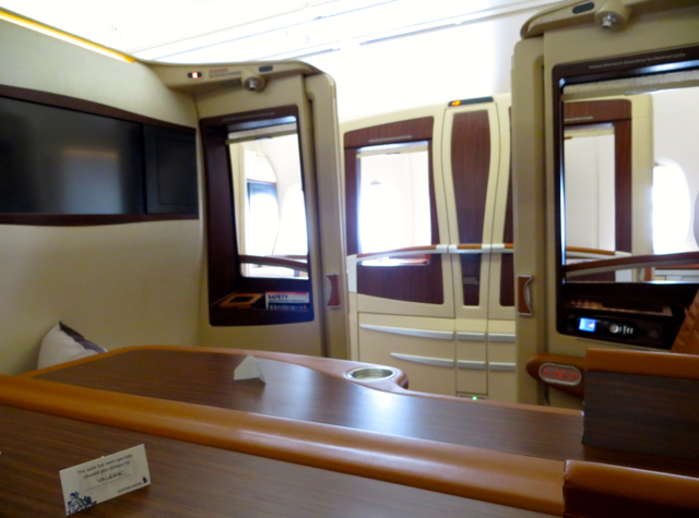 Singapore Suites A380 Review - View from Suite 3C