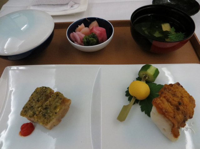 Singapore Suites A380 Review Singapore to Hong Kong - Book the Cook Japanese Kaiseki Third Courst