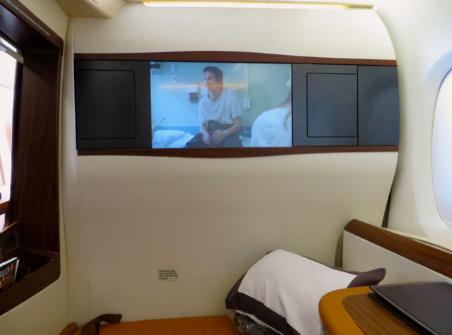 Singapore Suites A380 Review Singapore to Hong Kong: Movie Dallas Buyers Club