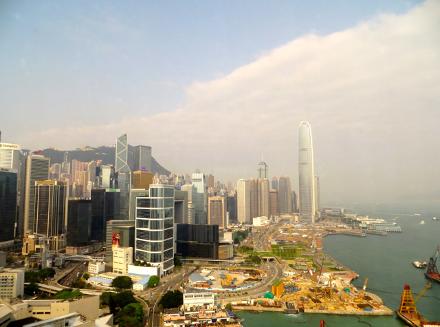 Review: Grand Hyatt Hong Kong Club Harbour View Room View