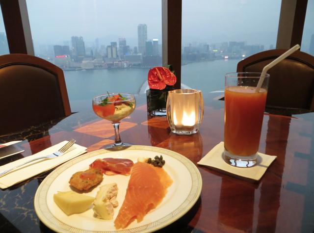 Review-Grand Club Lounge, Grand Hyatt Hong Kong