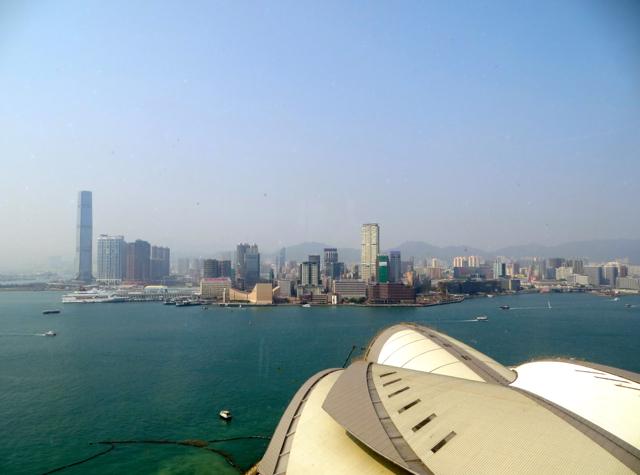 Review-Grand Club Lounge, Grand Hyatt Hong Kong - View