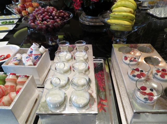 Review-Grand Club Lounge, Grand Hyatt Hong Kong - Yogurts