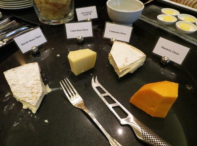 Review-Grand Club Lounge, Grand Hyatt Hong Kong - Cheeses