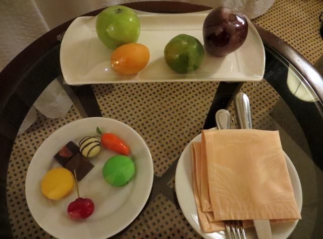 Novotel Bangkok Airport Hotel Review - Executive Premier Room Welcome Fruits