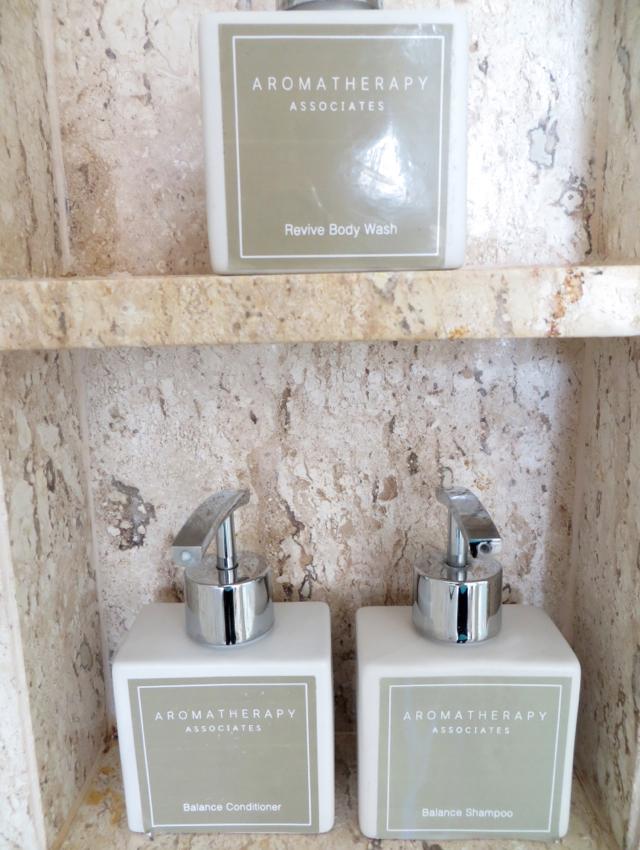 Conrad Koh Samui Review - Aromatherapy Associates Bath Amenities