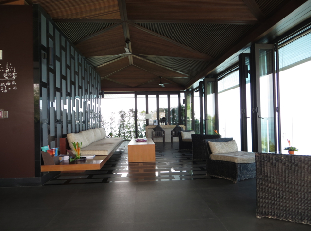 Conrad Koh Samui Review - Upper Reception