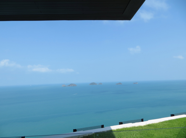 Conrad Koh Samui Review - View from Upper Reception