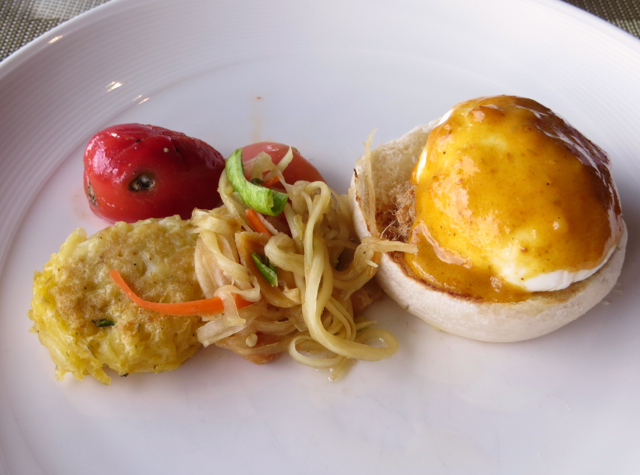 Conrad Koh Samui Zest Restaurant Review-Thai Eggs Benedict