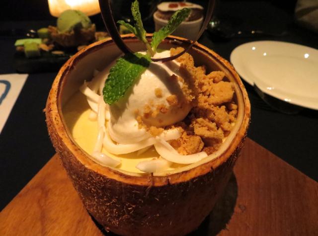 Coconut Creme Brulee, Jahn, Conrad Koh Samui
