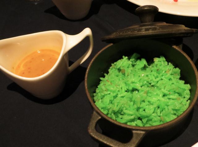 Conrad Koh Samui Jahn Restaurant Review - Massaman Sauce and Lemongrass Rice