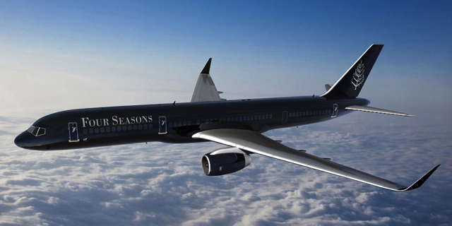 Four Seasons Private Jet: Four Seasons in the Sky